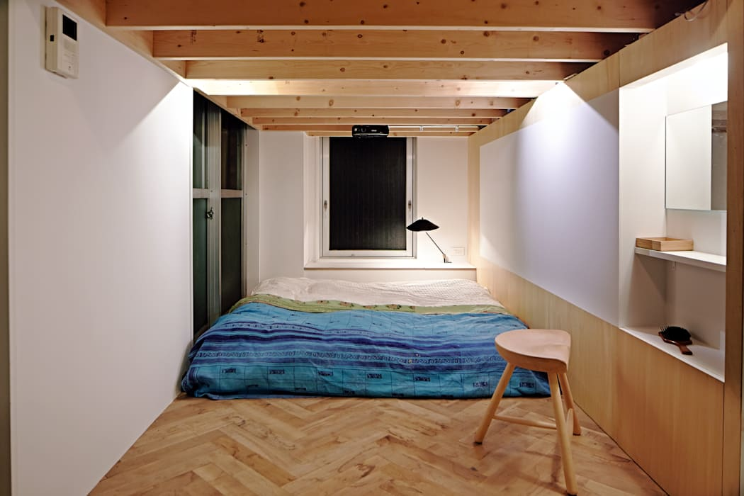 .8 / TENHACHI Industrial style bedroom