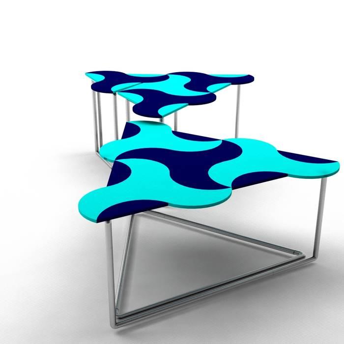 Ayça Sevinç Tasarım – Mavi: modern tarz , Modern