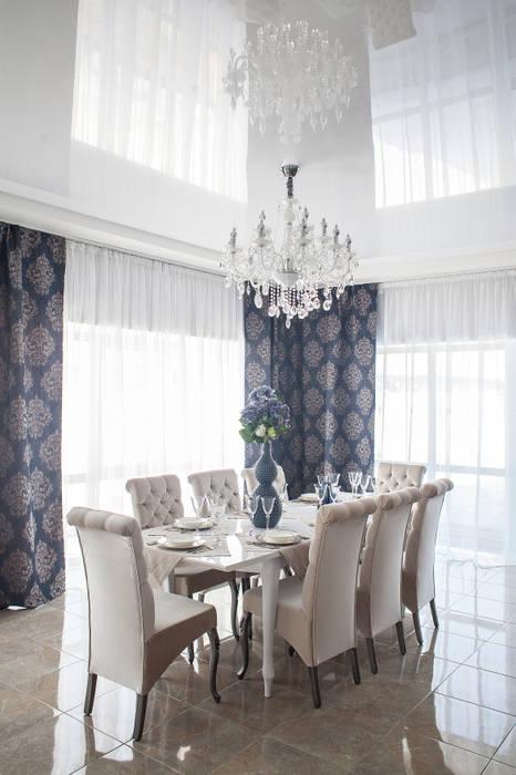 Salas de jantar clássicas por Дизайн студия fabrika Clássico