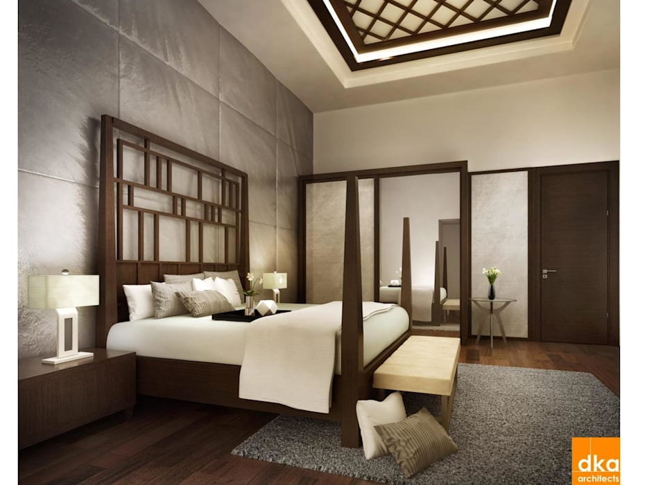 Pent house Modern style bedroom by Dutta Kannan architects Modern