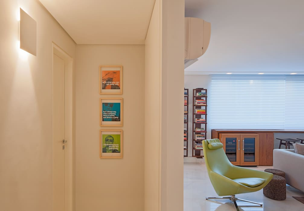 Modern living room by Dubal Arquitetura e Design Modern