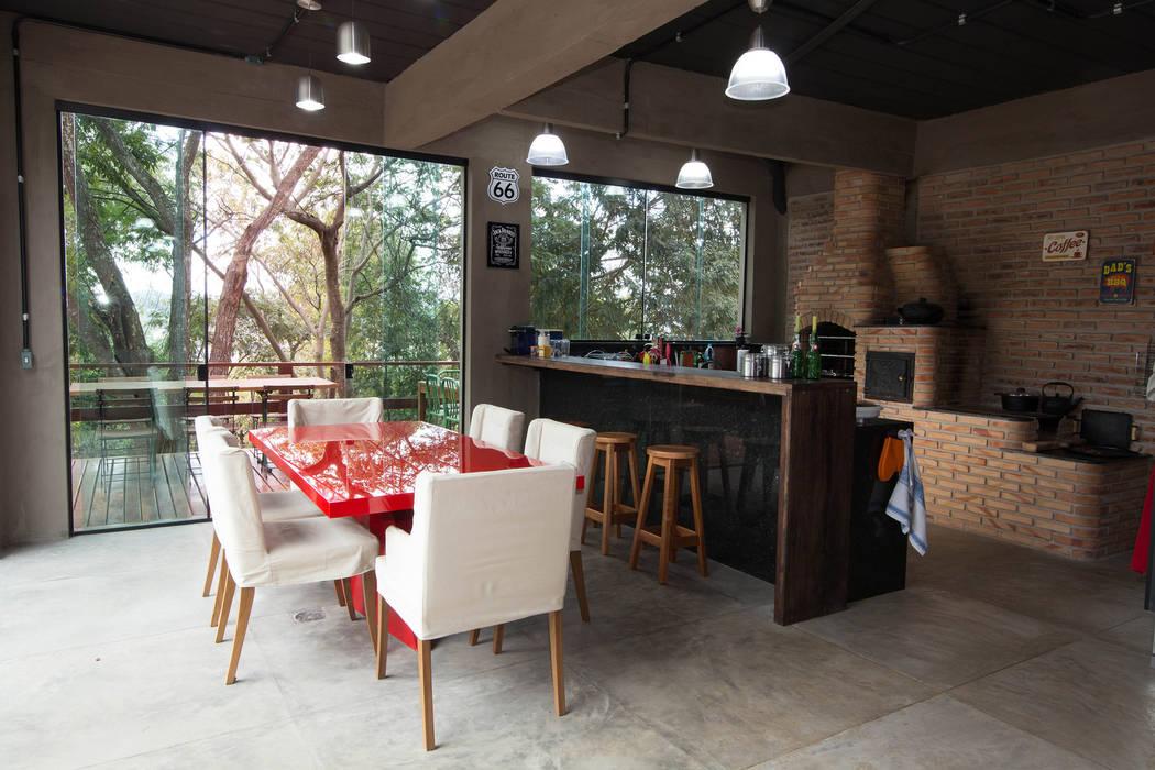 Mutabile Arquitetura Cocinas de estilo industrial