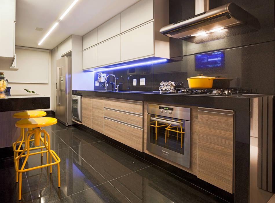 Apartamento Funcionários Dubal Arquitetura e Design Cozinhas modernas
