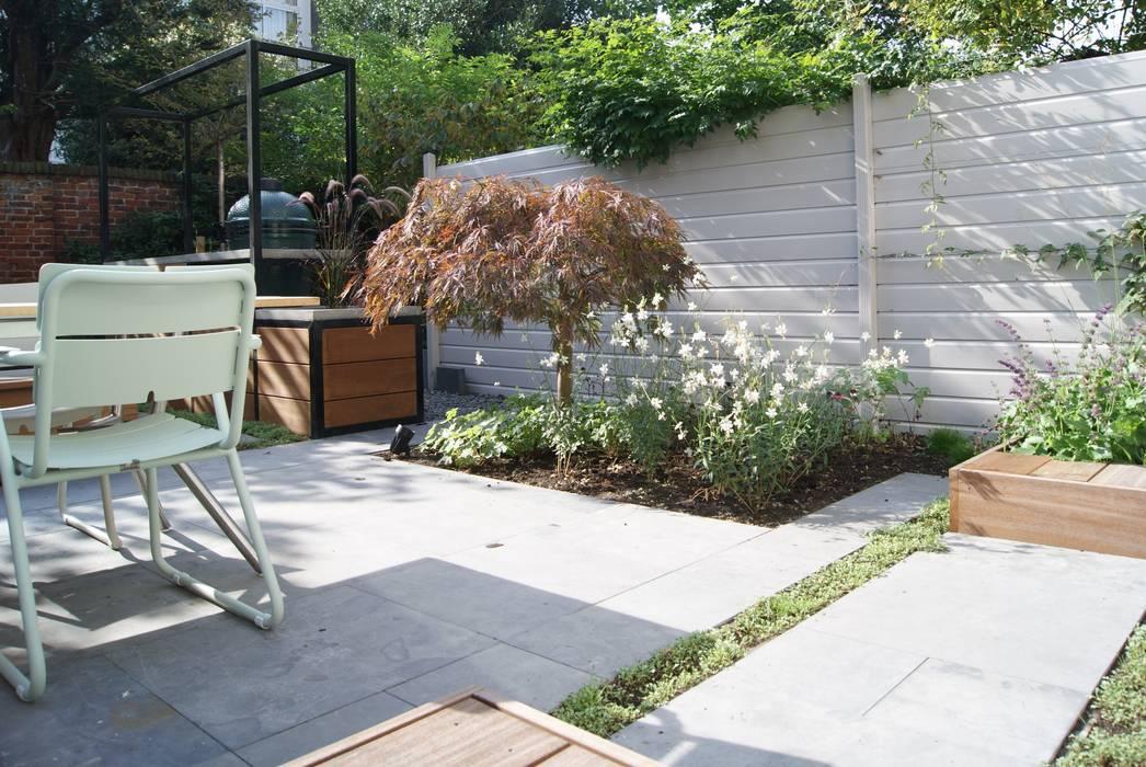 Jardines de estilo moderno de House of Green Moderno