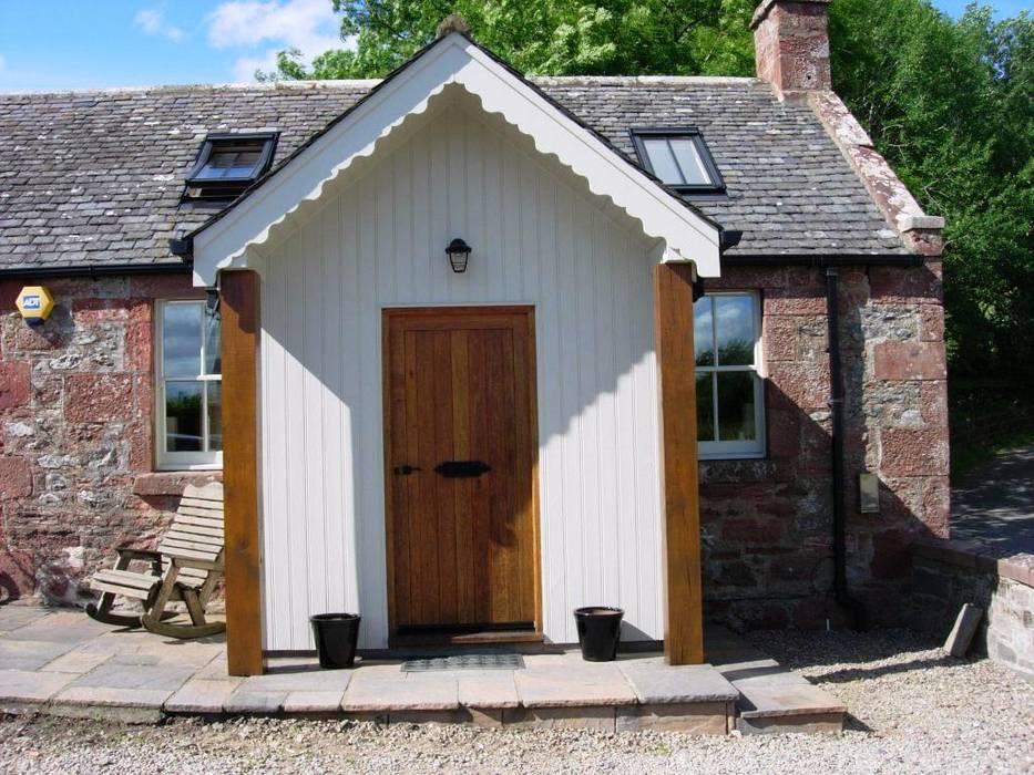 Terrasse de style  par Roundhouse Architecture Ltd, Rural