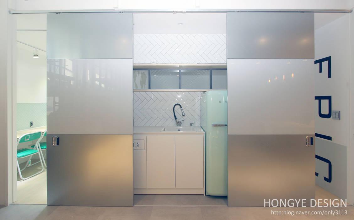 Cocinas de estilo  por 홍예디자인, Industrial