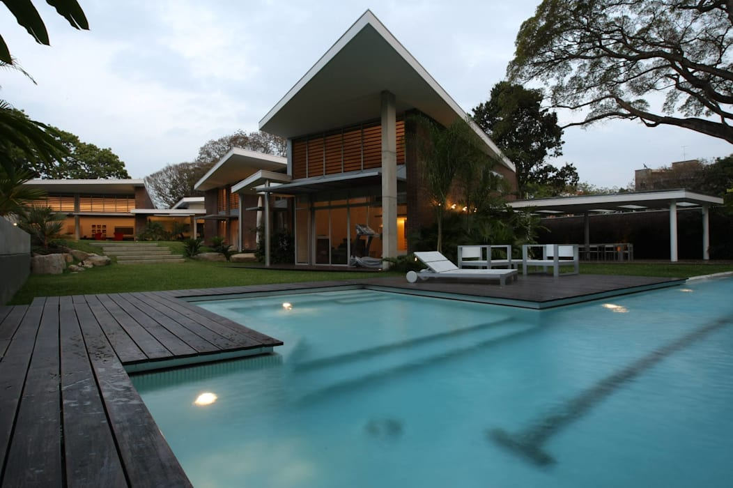Casa BA oda - oficina de arquitectura Piscinas de estilo moderno