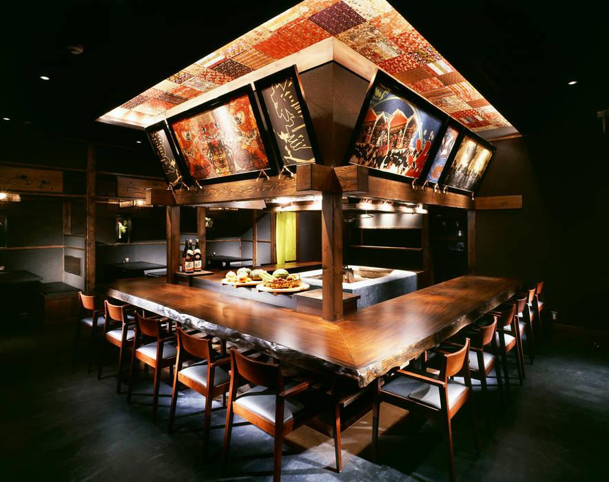 炉端 檜屋 炉端居酒屋 [麻布十番] アジア風レストラン の DESIGN LABEL KNOT 和風