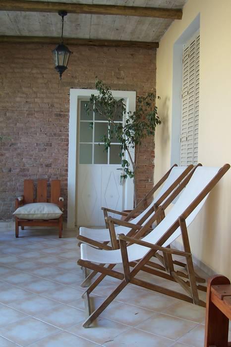 Remodelación cocina - comedor - patio de luz: jardines de estilo ...
