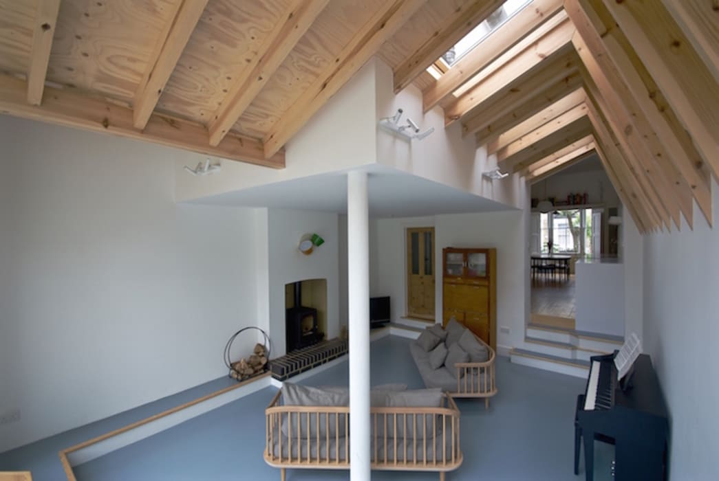 Salas de estar  por Forrester Architects