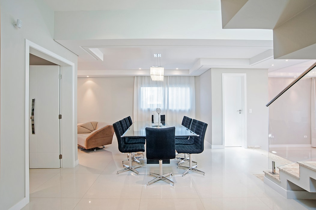 Salle à manger moderne par Patrícia Azoni Arquitetura + Arte & Design Moderne