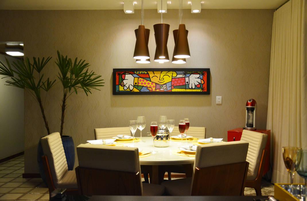 Sala de Jantar! CARDOSO CHOUZA ARQUITETOS