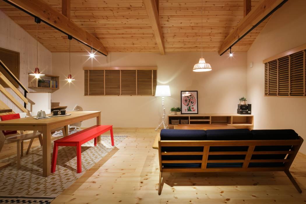 Living room by dwarf, Scandinavian