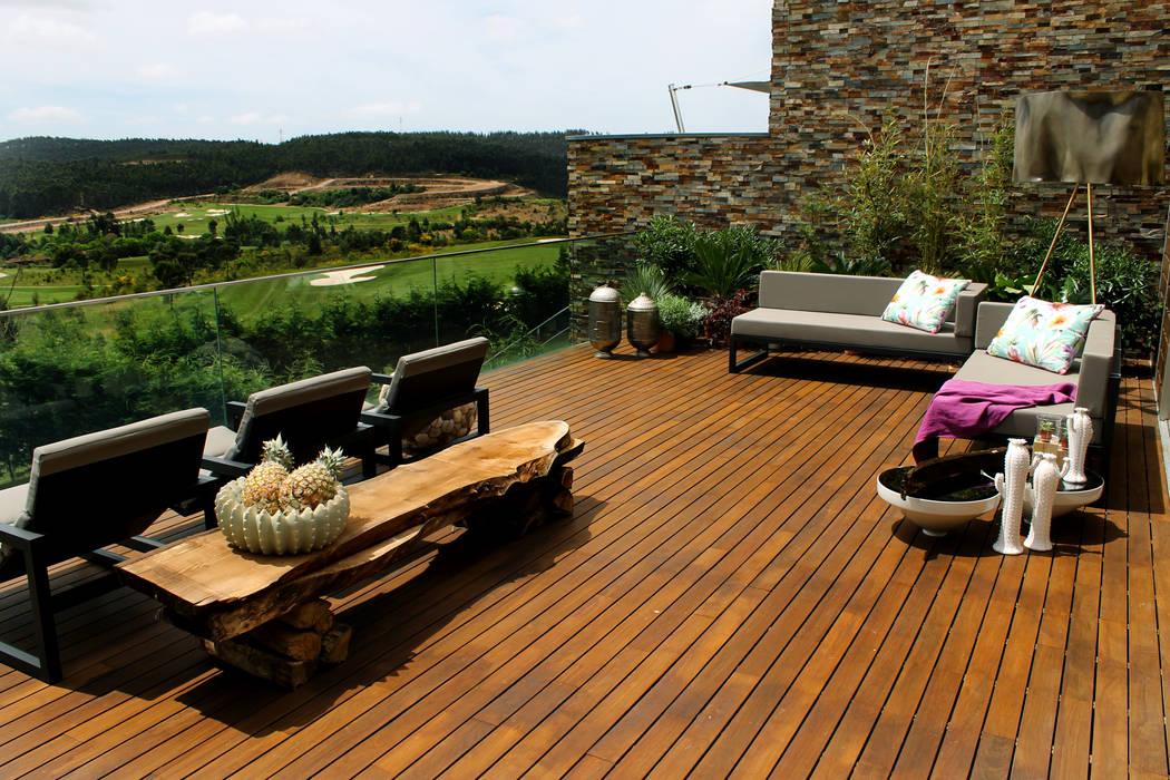 Balcones y terrazas mediterráneos de ACTUAL SOLUCÕES Mediterráneo
