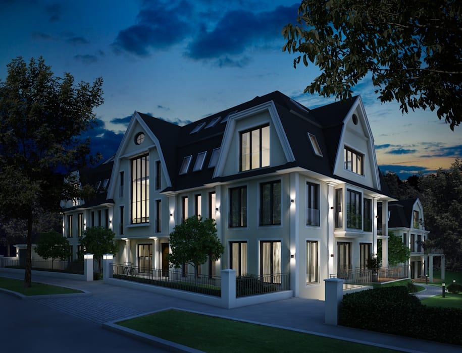 winhard 3D Classic style houses