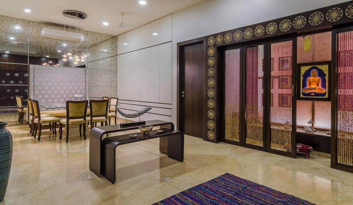 Salones de estilo moderno de In-situ Design Moderno