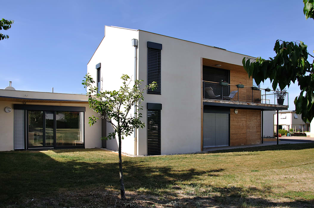 Phase 1: Maisons de style de style Moderne par archipente