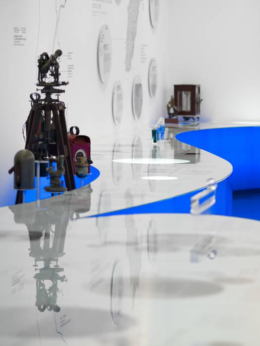 Water Museum Museus modernos por P-06 ATELIER, ambientes e comunicação, Lda Moderno