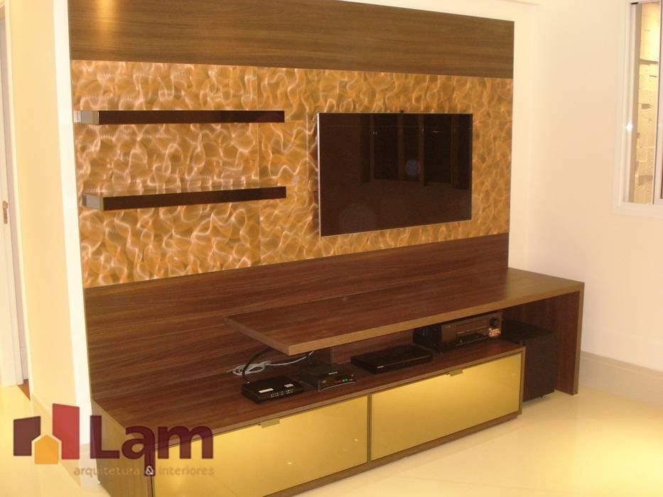 Sala de Estar - Obra Salas de estar modernas por LAM Arquitetura | Interiores Moderno
