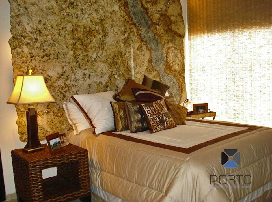 PORTO Arquitectura + Diseño de Interiores Спальня