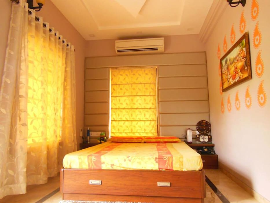 Rita Mody Joshi & Associates Modern Bedroom