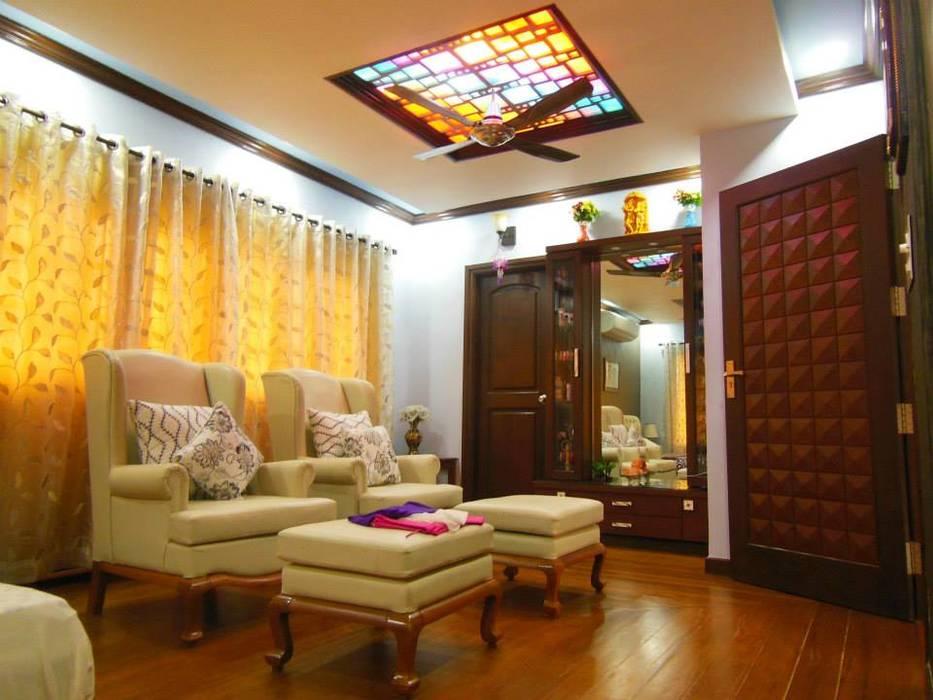 Residence. Rita Mody Joshi & Associates Modern style bedroom