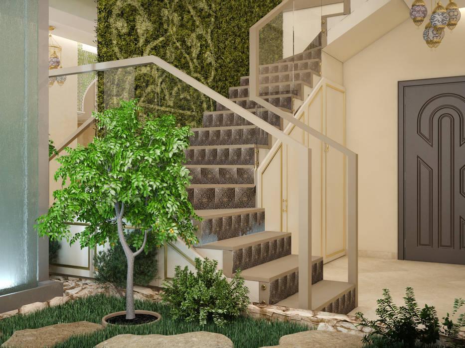 Jardins de Inverno minimalistas por Tatiana Zaitseva Design Studio Minimalista