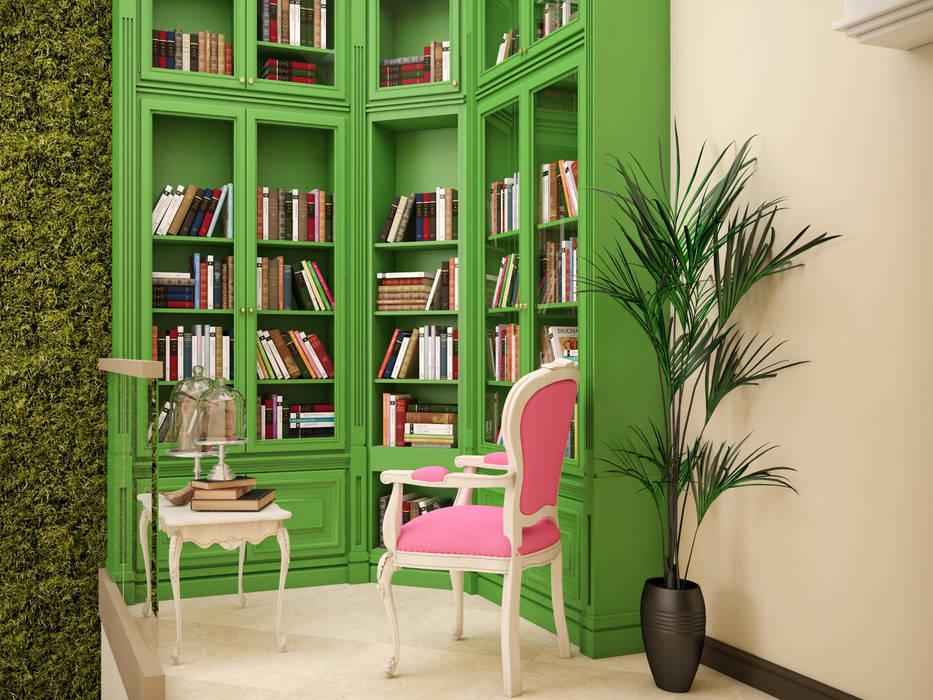 Tatiana Zaitseva Design Studio Study/office