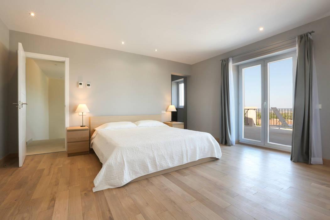 ISLABAU constructora Rustic style bedroom