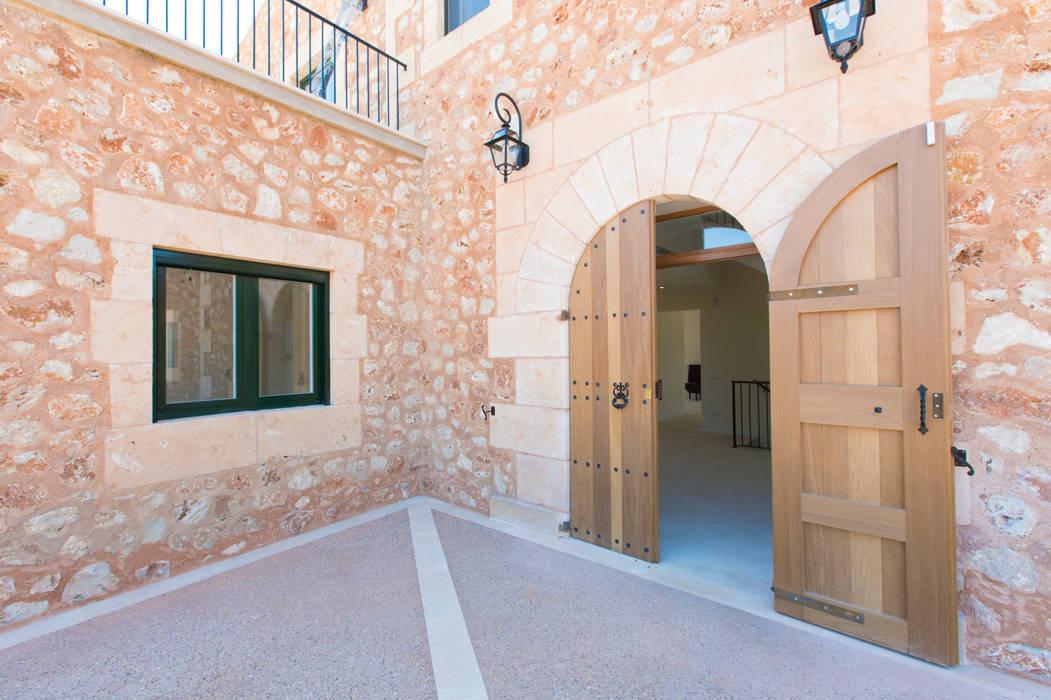 Villa CP Campos Casas de estilo rústico de ISLABAU constructora Rústico