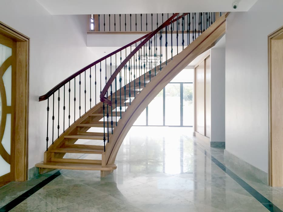 Main Staircase - As Built:   by Arc 3 Architects & Chartered Surveyors