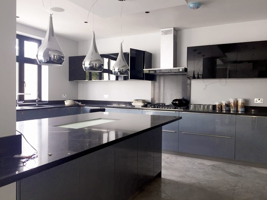 Kitchen - As Built:   by Arc 3 Architects & Chartered Surveyors