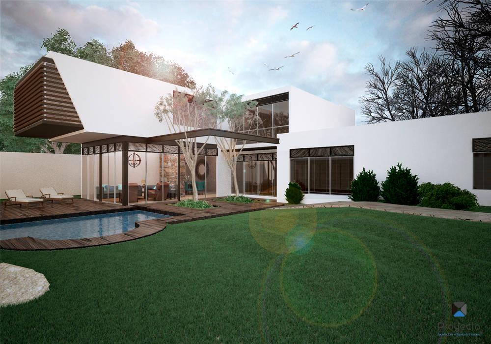 Houses by PORTO Arquitectura + Diseño de Interiores,