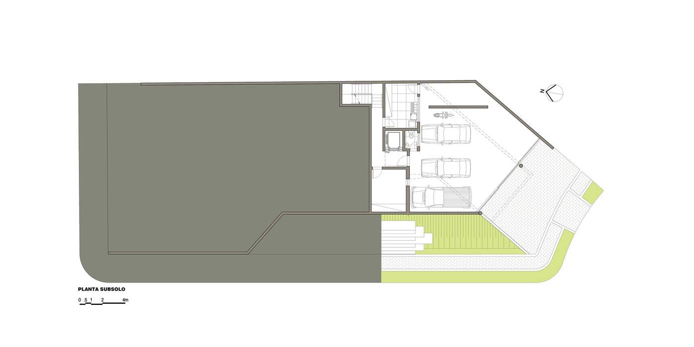 Muren door grupo pr | arquitetura e design, Modern
