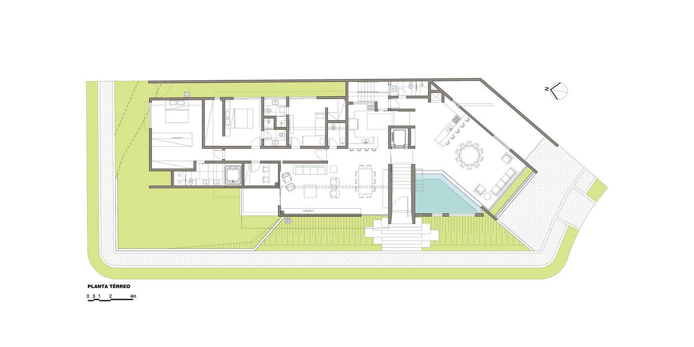 โดย grupo pr | arquitetura e design โมเดิร์น
