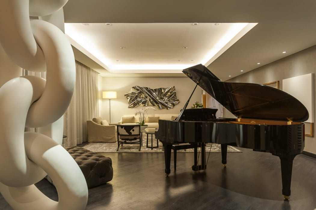 Salon classique par HO arquitectura de interiores Classique