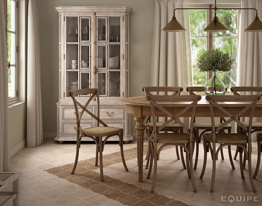 Dining room by homify, Rustic