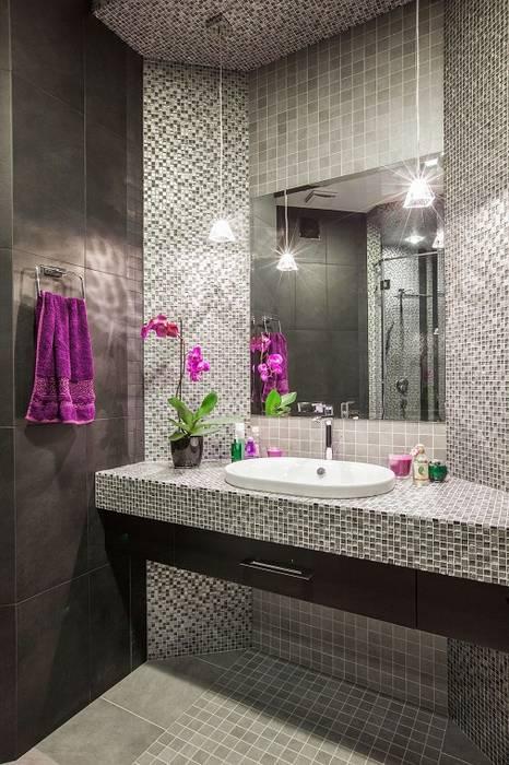 Сompound interior: Ванные комнаты в . Автор – Alena Gorskaya Design Studio, Минимализм