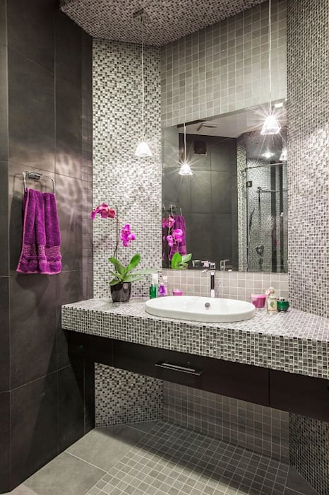 Salle de bain minimaliste par Alena Gorskaya Design Studio Minimaliste