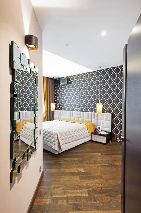 Chambre minimaliste par Alena Gorskaya Design Studio Minimaliste