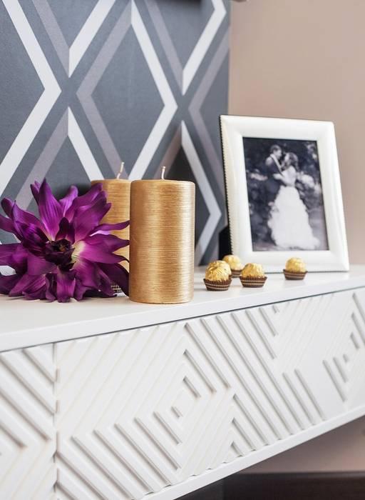 Dormitorios de estilo  de Alena Gorskaya Design Studio