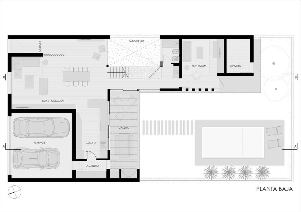 Houses by Ronda Estudio,