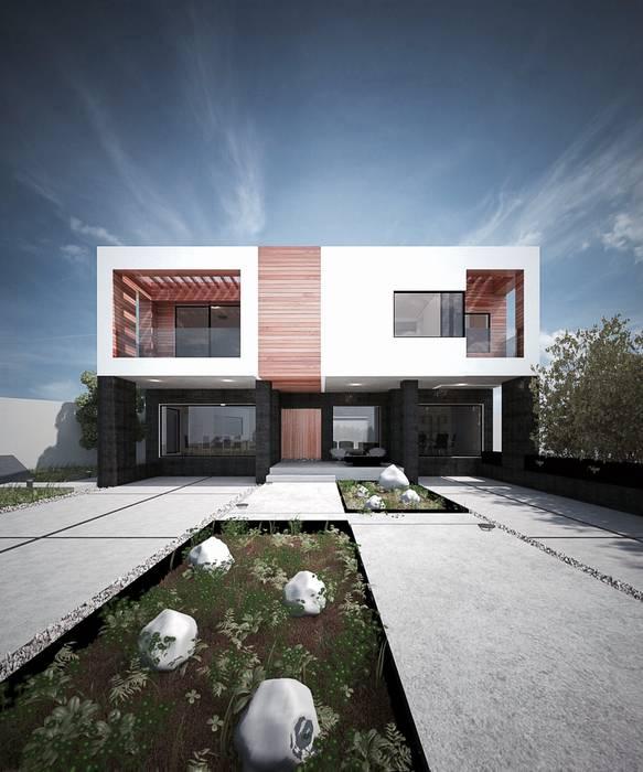 PARCELA // 65: Casas de estilo  por DOSA studio