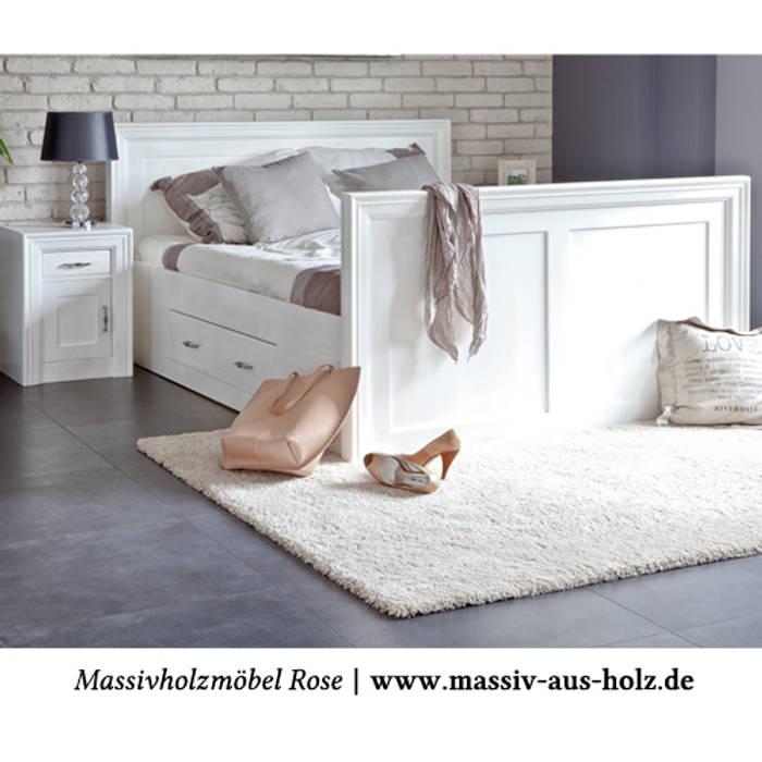 Nachttisch Weiss Modern Schlafzimmer Von Massiv Aus Holz Homify