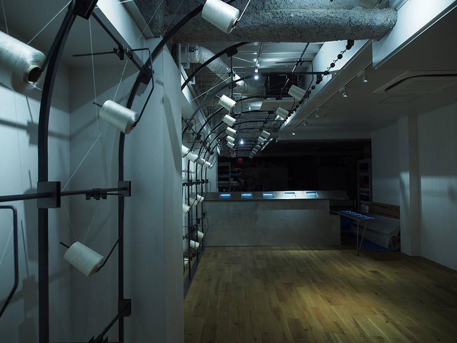 OGAWAMINE: (株)グリッドフレームが手掛けた会議・展示施設です。,インダストリアル