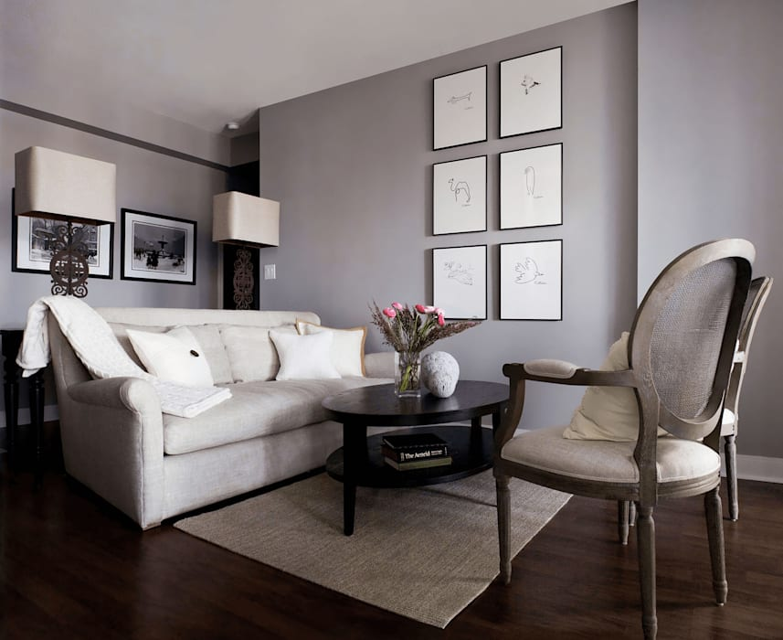 Appartement, 2012: Salon de style  par ANNA DUVAL