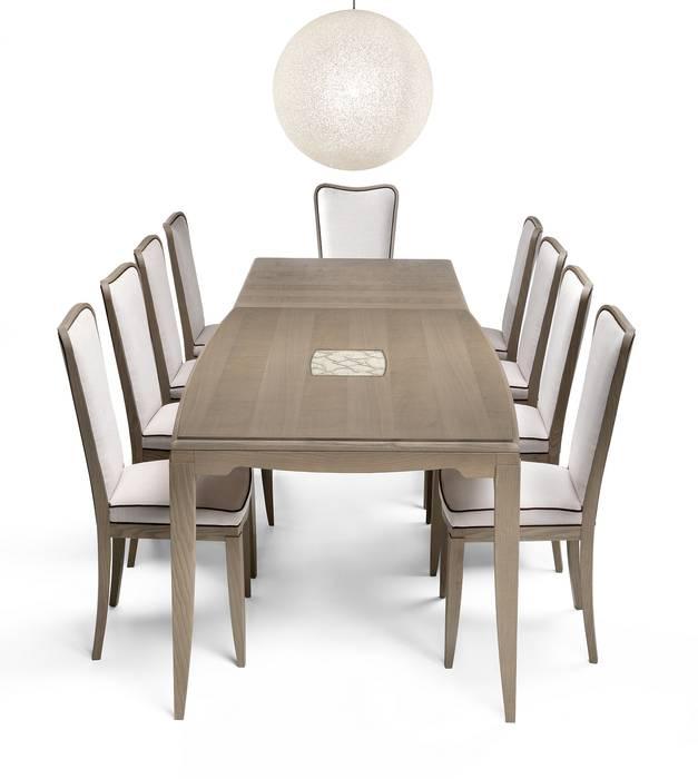 Tavolo Collezione Street art. ST312: Sala da pranzo in stile in stile Moderno di Moletta Mobili