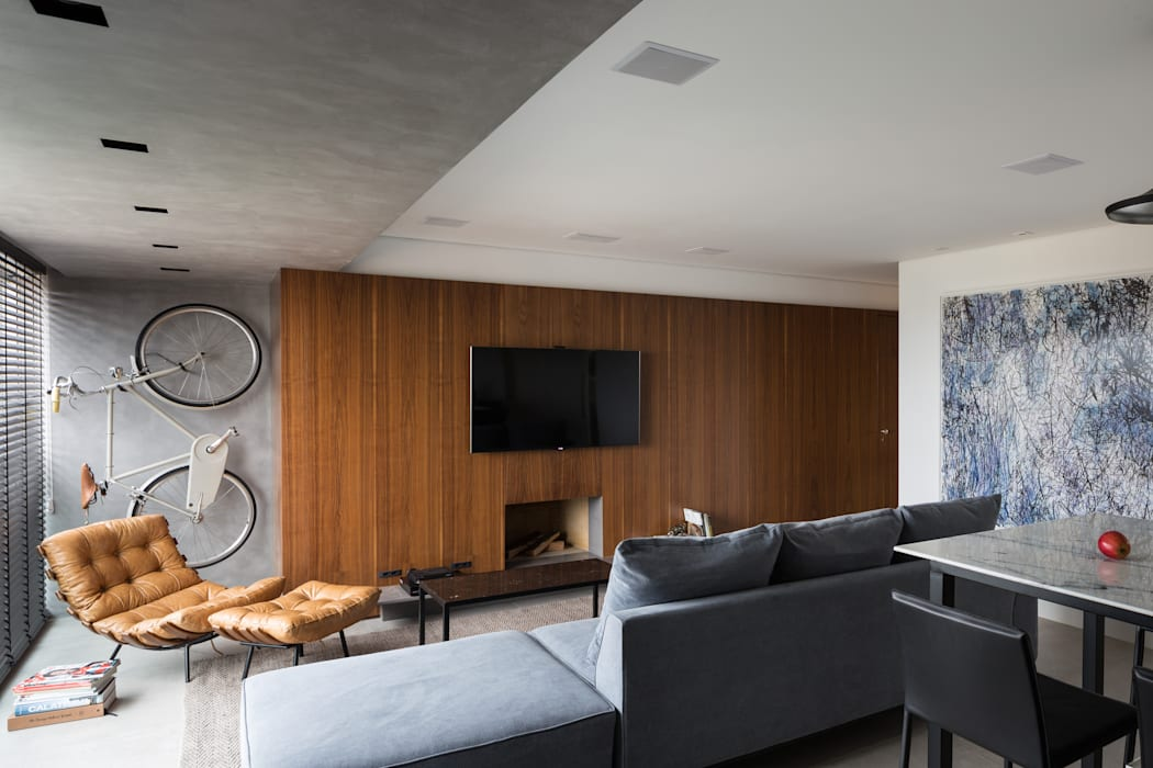 Living room by AMBIDESTRO, Minimalist