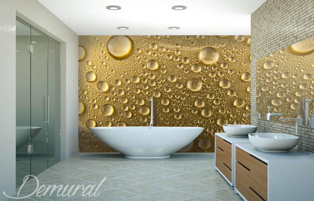Kąpiel w piance Nowoczesna łazienka od Demural.pl Nowoczesny