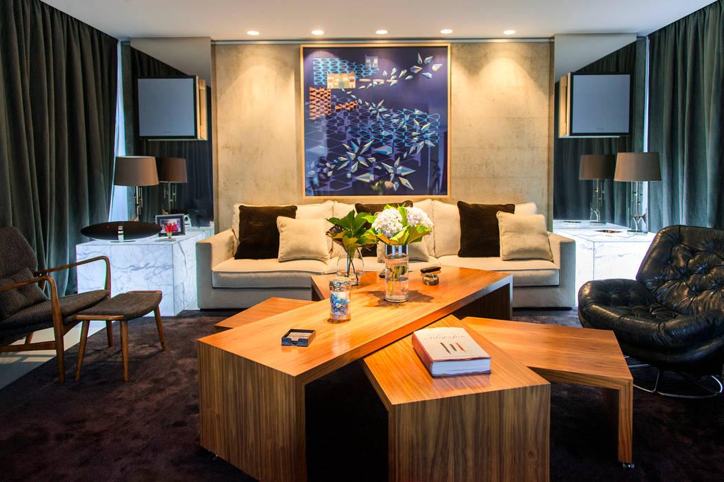 Salon moderne par Belén Sueiro Moderne